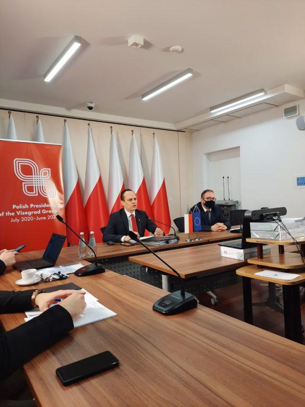 Spotkanie ekspertów BRD państw Grupy Wyszehradzkiej