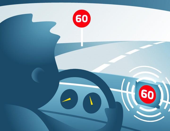Inteligentny asystent prędkości będzie montowany we wszystkich nowych typach pojazdów  w UE od 2022 r.