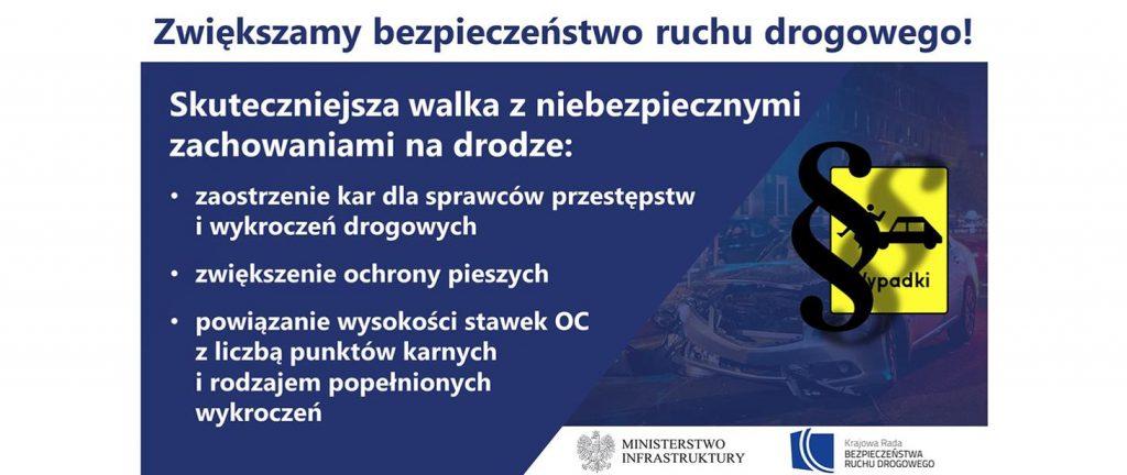Zwiększamy bezpieczeństwo ruchu drogowego